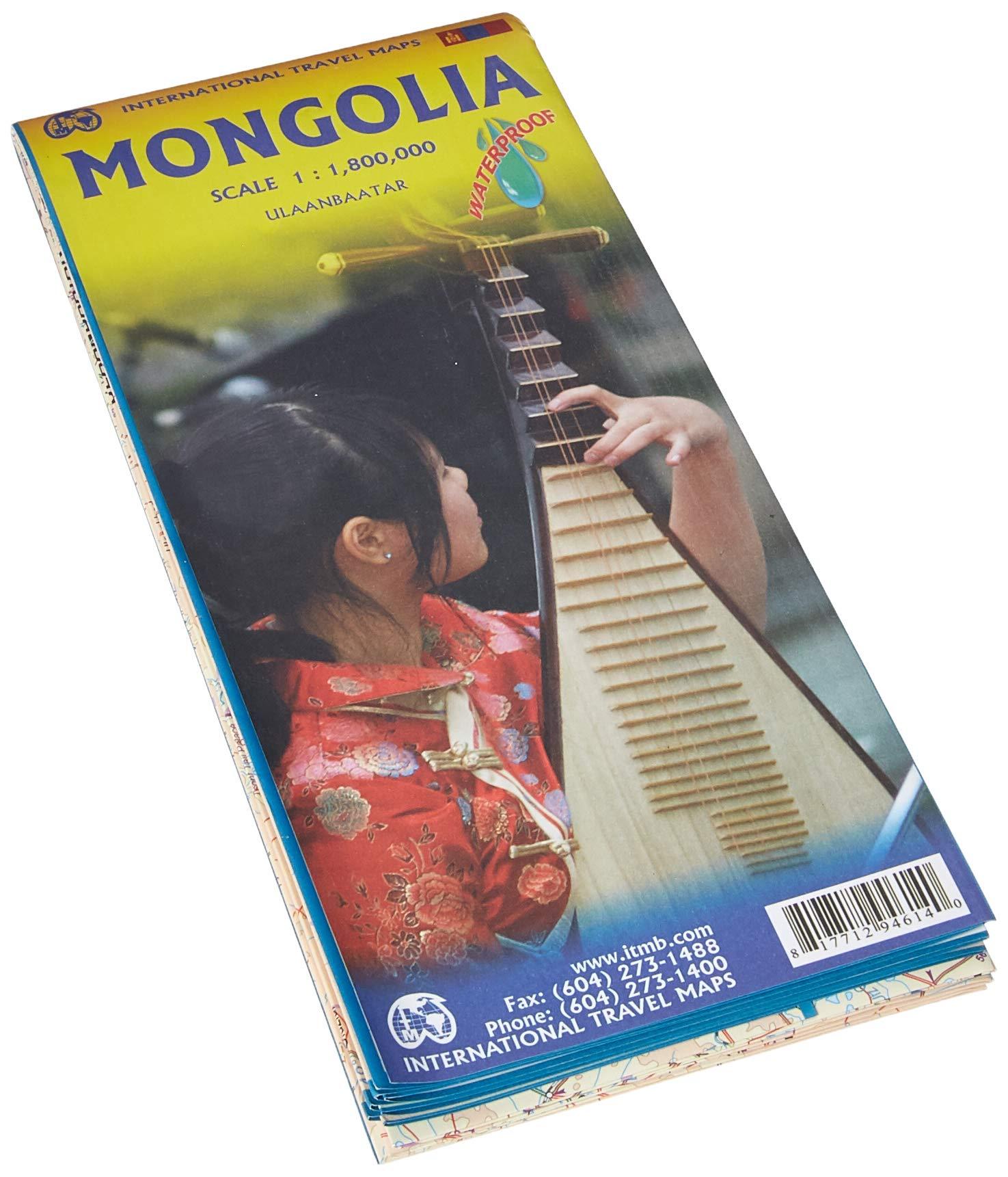 מפת מונגוליה ITM