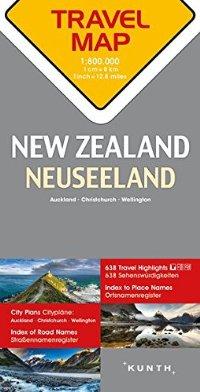 מפה KU ניו זילנד