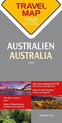 מפה KU אוסטרליה