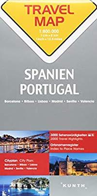 מפה KU ספרד ופורטוגל