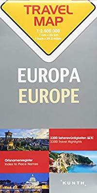 מפה KU אירופה