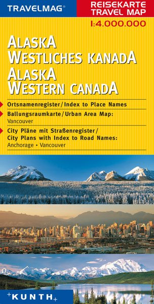 מפה KU אלסקה ומערב קנדה
