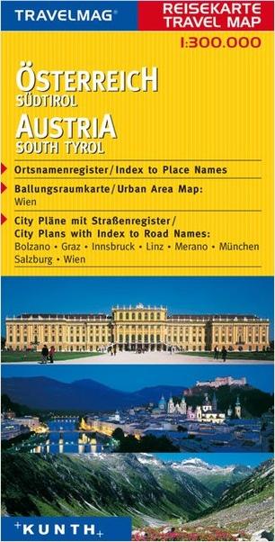 מפת אוסטריה - דרום טירול קונט (ישן)