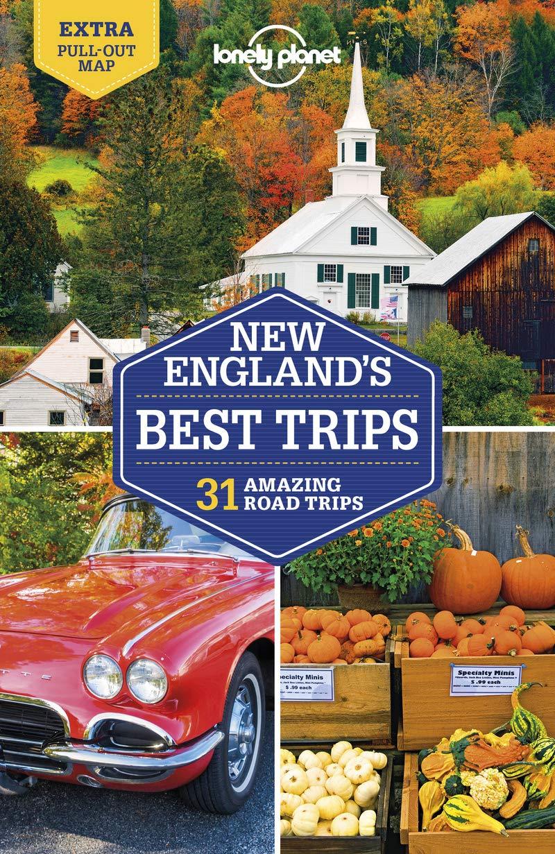 מדריך באנגלית LP ניו אינגלנד - מסלולי טיולים