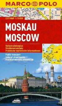 מפה MA מוסקבה