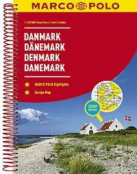 מפה MA דנמרק אטלס