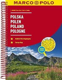 מפה MA פולין אטלס