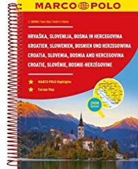 מפה MA סלובניה וקרואטיה אטלס