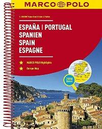 מפה MA ספרד ופורטוגל אטלס