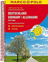 מפה MA גרמניה אטלס 2019-2020