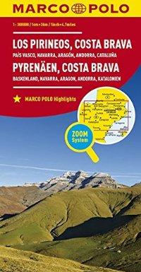 מפה MA ספרד 300 (3/4) הפירנאים,ק.בראבה,ארץ הבסקים,נווארה,אראגון,אנדורה,קטלוניה