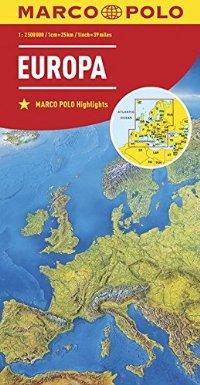 מפה MA אירופה