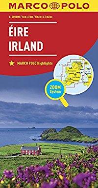 מפה MA אירלנד