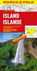 מפה MA איסלנד