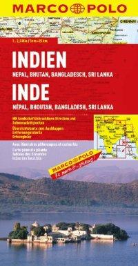 מפת הודו (כולל: נפאן בוטאן בנגלדש סרי לנקה) מאייר (ישן)