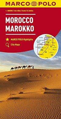 מפה MA מרוקו
