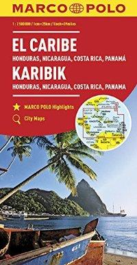 מפה MA הקריביים, האיים