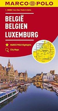 מפה MA בלגיה ולוקסמבורג