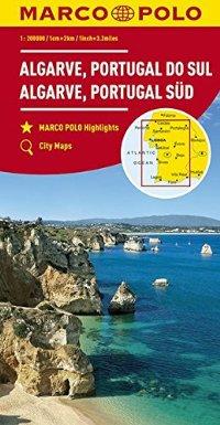 מפה MA אלגארב (פורטוגל)