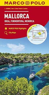 מפה MA ספרד 300 (9) מיורקה, איביזה, פורמנטרה, מנורקה