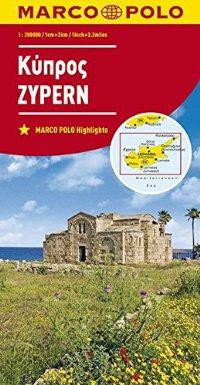 מפה MA קפריסין