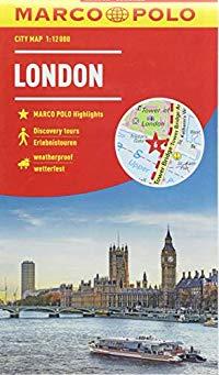 מפה MA לונדון