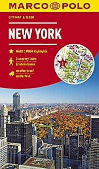 מפה MA ניו יורק