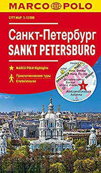 מפה MA סנט פטרבורג