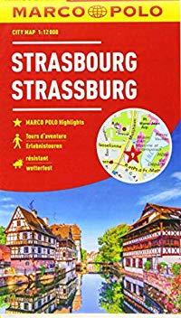 מפה MA שטרסבורג (סטראסבור)