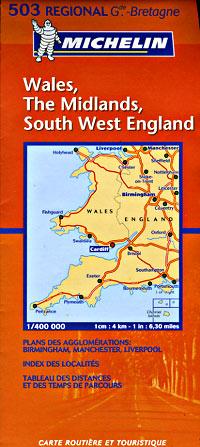 בריטניה 503 וויילז, מערב, מידלנדז