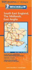 בריטניה 504 דרום מזרח, מידלנדז, מזרח אנגליה