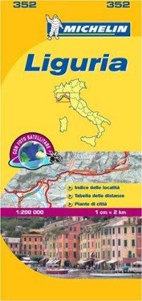 מפת איטליה 200 ליגוריה 352 מישלן