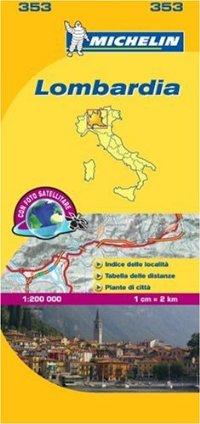 מפה MI איטליה 200 לומבארדיה 353