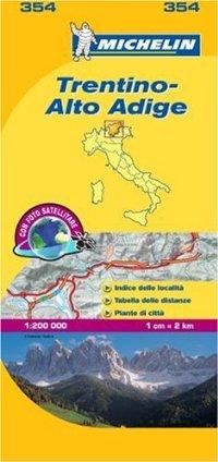 מפה MI איטליה 200 טרנטינו 354