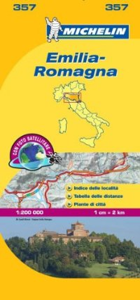 מפה MI איטליה 200 אמיליה-רומאניה 357