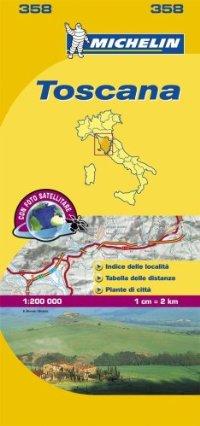 מפה MI איטליה 200 טוסקנה 358