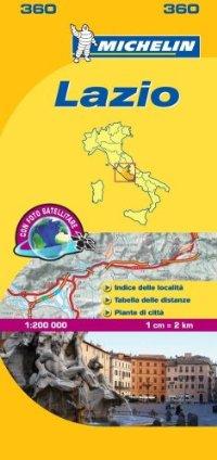 מפה MI איטליה 200 לאציו 360
