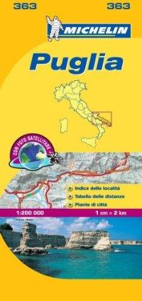 מפה MI איטליה 200 פוליה 363