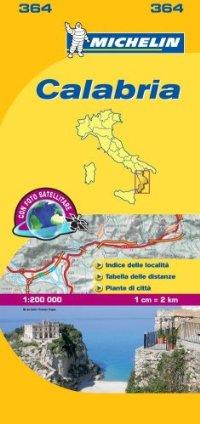 מפה MI איטליה 200 קלאבריה 364
