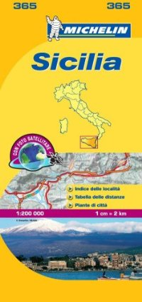 מפה MI איטליה 200 סיציליה 365