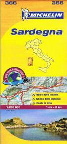 מפה MI איטליה 200 סרדיניה 366