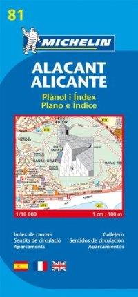 מפה MI אליקנטה (ספרד) 9081