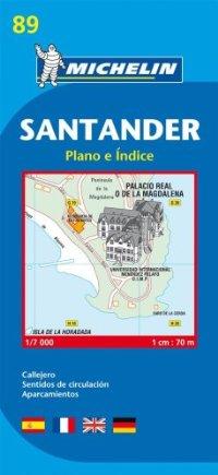 מפה MI  סנטנדר (ספרד) 9089
