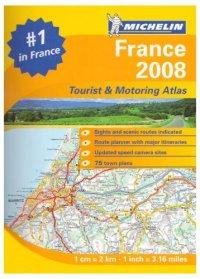 מפה MI צרפת אטלס ספירלי A4 2008