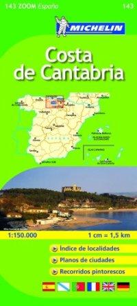 מפה MI ספרד זום 143 קוסטה דה קנטבריה