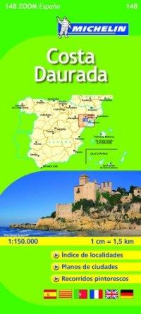 מפה MI ספרד זום 148 קוסטה דאורדה