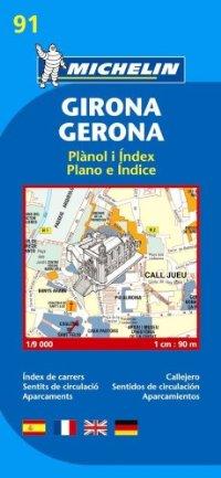 מפה MI חירונה (גירונה) 9091