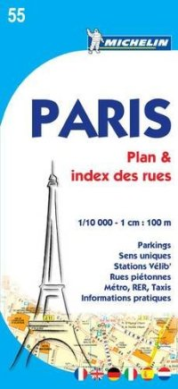 Paris Plan (Street Index) 55