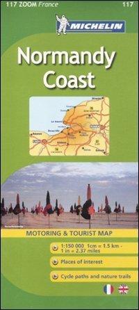 מפת צרפת 1117 חוף נורמנדי מישלן (ישן)