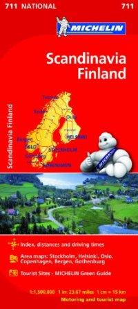 מפה MI סקנדינביה ופינלנד 711